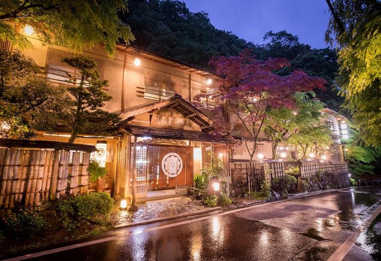 Kibune Fujiya, Kyoto, Hotel Front – Evening/Night