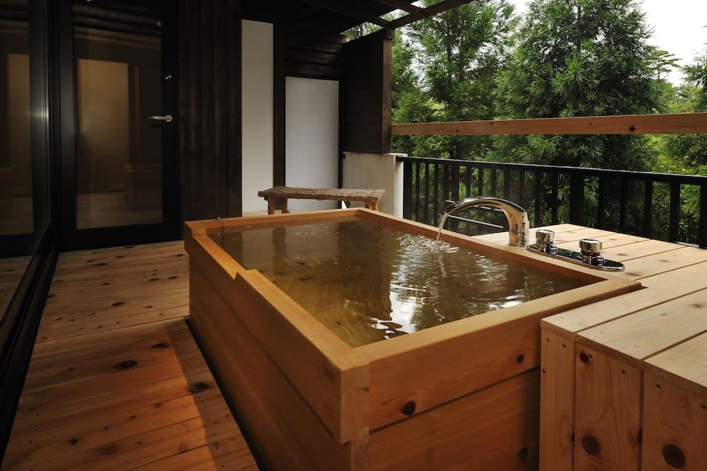 Phòng Deluxe (Open Air Bath) - Phòng tắm
