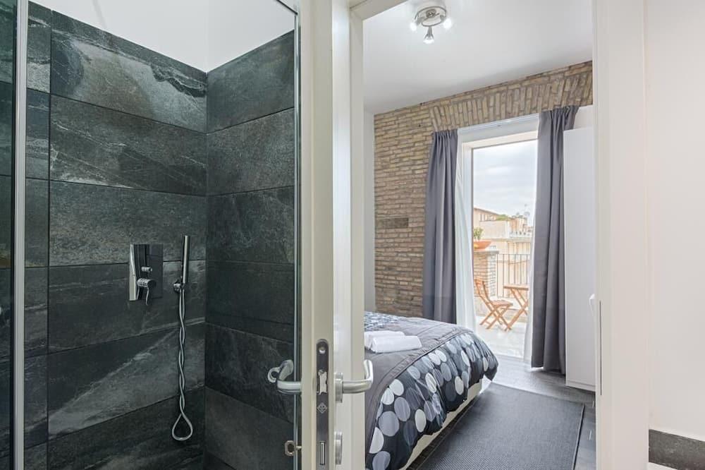 Double Room, Balcony - Bilik mandi