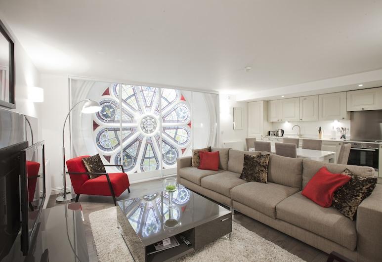 애플 아파트먼트 로즈마운트, Aberdeen, 럭셔리 아파트, 침실 3개, 거실 공간