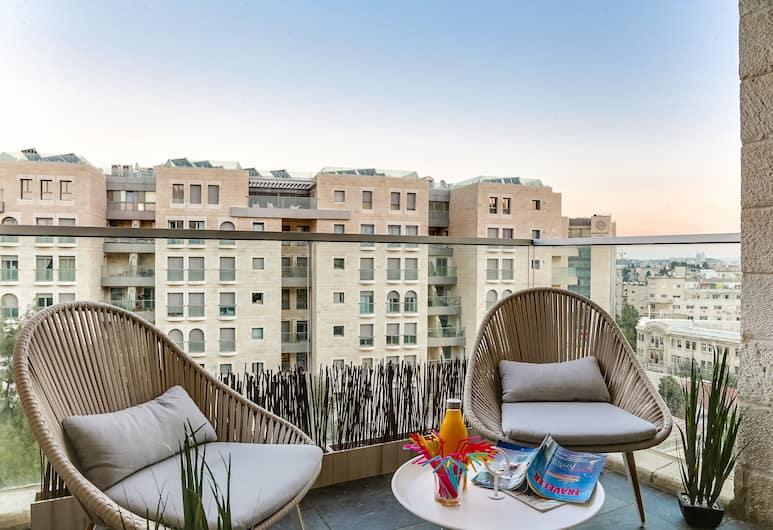 Sweet Inn Apartments - Agan Street, Jerusalem, Apartment, 2 Bedrooms (Agan 14), Balcony