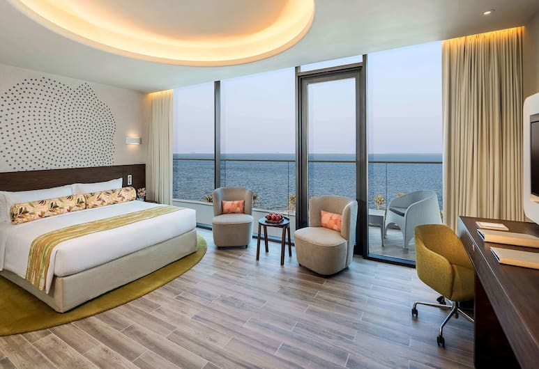 The Retreat Palm Dubai - MGallery, Dubai, Deluxe Room Partial Sea View, Guest Room