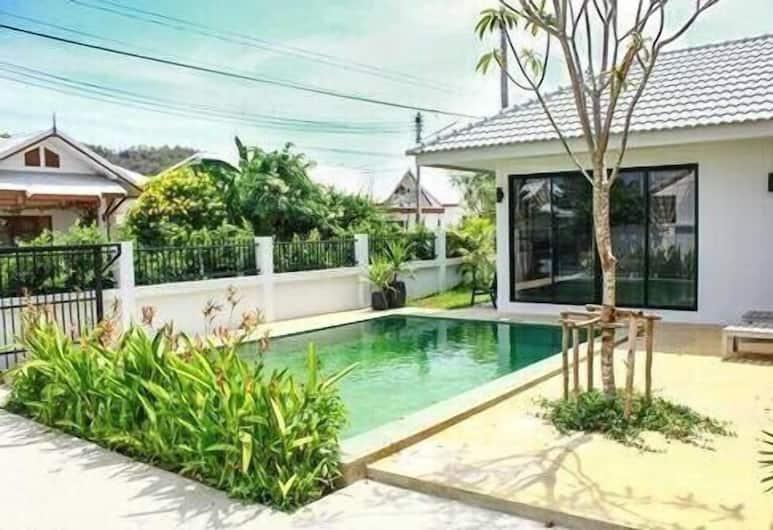 泳池別墅 451 號酒店, 華欣, 2-Bedroom Private Pool Villa, 陽台