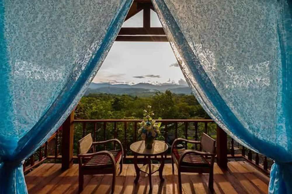 Twin Room, Mountainside - Balcony