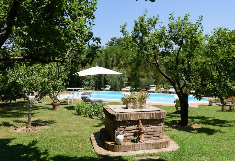 Villa Vignacce, Sinalunga, Huoneisto, 1 makuuhuone (Tabaccaia), Lasten leikkialue ulkona