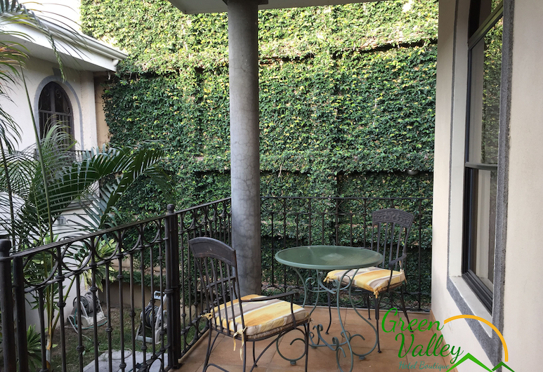 Green Valley Hotel Boutique, Curridabat, Terrasse/veranda