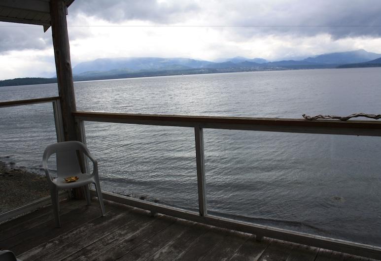 Orca Lodge, Sointula, Departamento, vista al mar, frente al mar, Terraza o patio