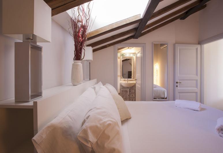 Habitat's Navona Apartments, Róma, Panorámás tetőtéri szoba, 2 hálószobával, kilátással a városra, Szoba