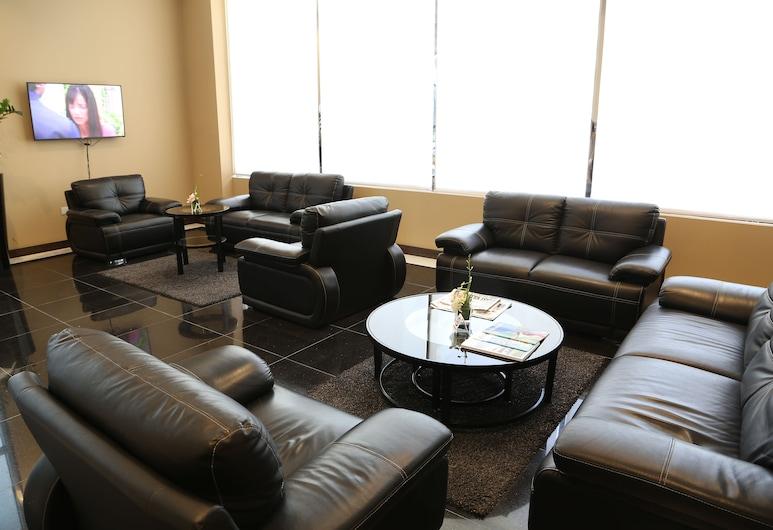 Belle Tower Luxury Hotel Apartments, Manama, Sitzecke in der Lobby
