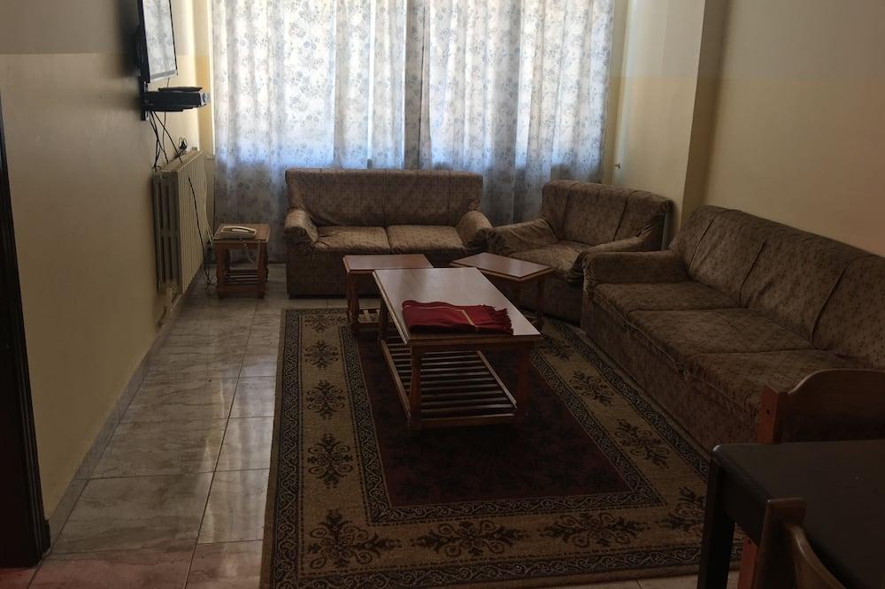 Superior Apartment, 1 Bedroom - Living Room