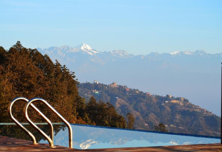 Hotel Mystic Mountain, Nagarkot, Deluxe szoba kétszemélyes vagy két külön ággyal, kilátással a hegyre, Kilátás a hegységre