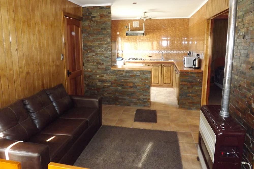 Casa de campo estándar, 2 habitaciones, baño privado, vista al patio - Sala de estar
