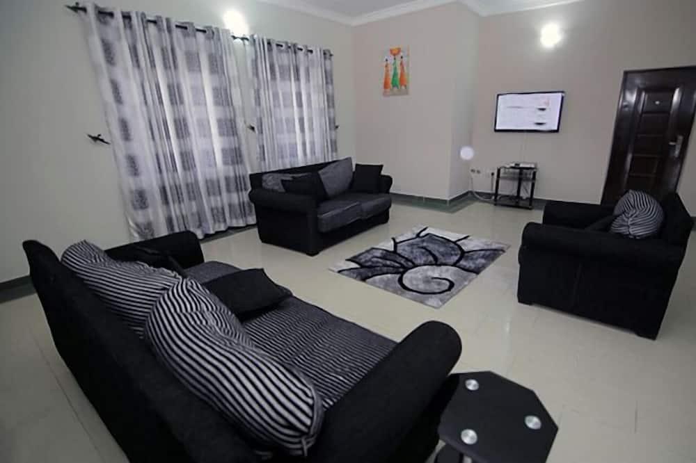 Apartman, 2 spavaće sobe, pristup za osobe s invalidnošću, za pušače - Dnevna soba