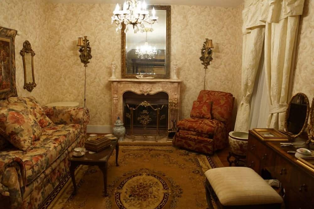 ห้องสแตนดาร์ด, เตียงควีนไซส์ 1 เตียง, ปลอดบุหรี่ (The Wyman Suite) - พื้นที่นั่งเล่น