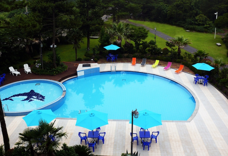 濟州島貝尼克渡假村, Jeju City, 室內游泳池