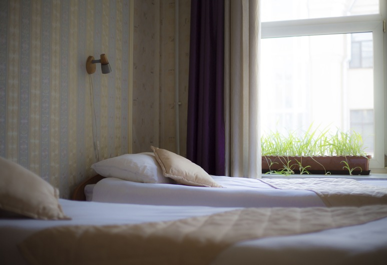 Nevsky Row Hotel - Nevsky 100, Skt. Petersborg, Comfort-værelse med dobbeltseng eller 2 enkeltsenge, Værelse
