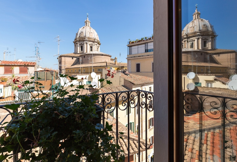 Rome as you feel - Grotta Pinta Apartments, Rome, Comfort Apartment, 2 Bedrooms, Kitchen (Via di Grotta Pinta, 10 - Int. 11), Balcony