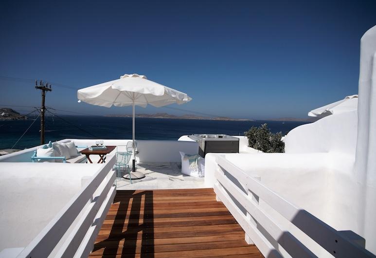 Mykonos Moussa Suites, Mikonos, Suite (Polymneia), Terraza o patio
