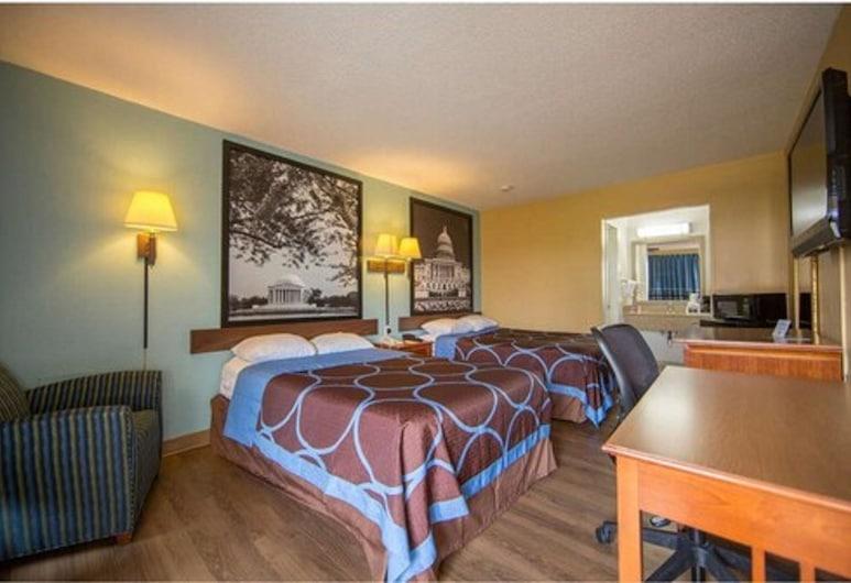 Super 8 by Wyndham Alexandria/Washington D.C. Area, Alexandria, Room, 2 Double Beds, Non Smoking, Guest Room