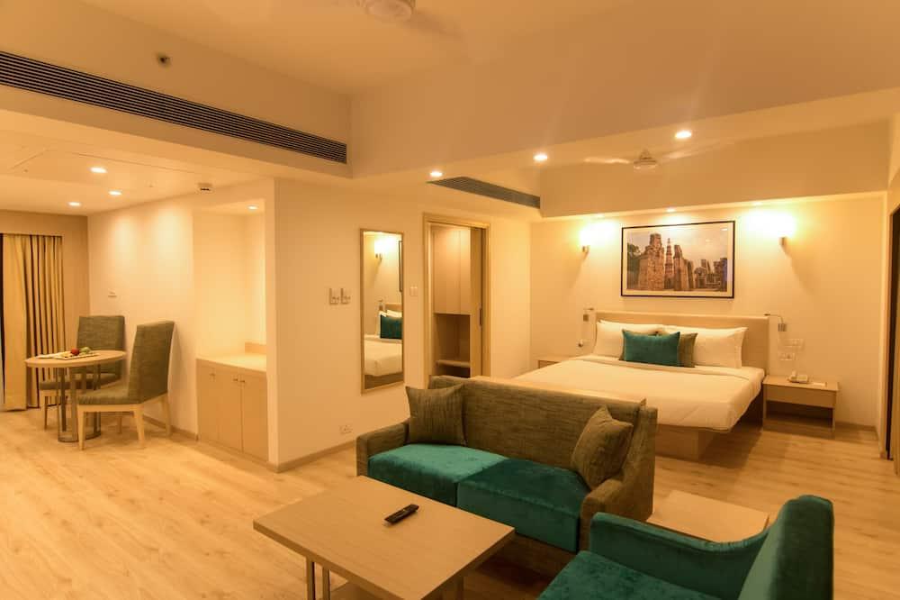 Executive suite, 1 slaapkamer, Uitzicht op de stad - Kamer