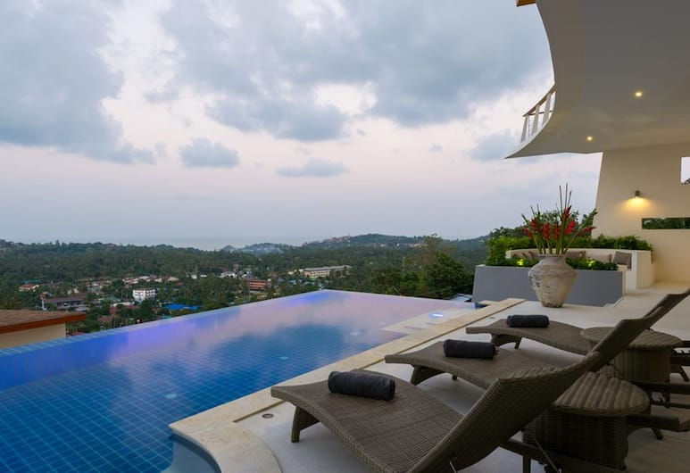 嶺山 7 號別墅酒店, 蘇梅島, 室外泳池