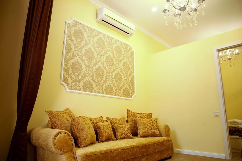 Apartmá, 1 ložnice, přízemí - Obývací pokoj
