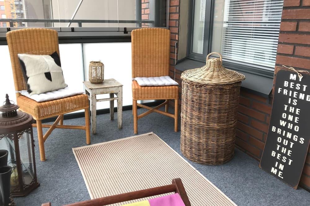 Appartement Supérieur, côté cour intérieure (A 8) - Balcon