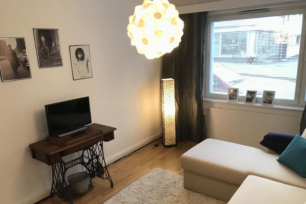 Economy-huoneisto, 2 makuuhuonetta, Pohjakerros - Oleskelualue