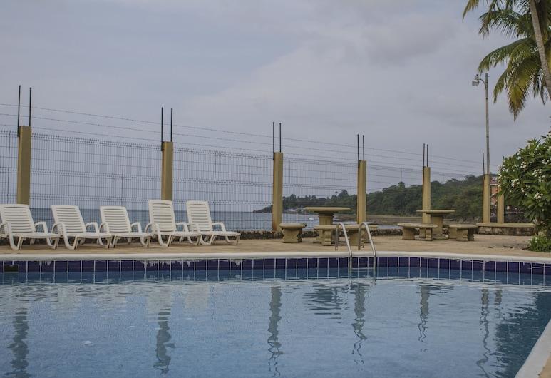 Hotel Boutique Playa Bonita, Limon, Kolam