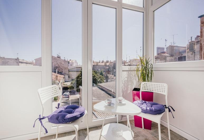 D&A Center Apartments, Pula, Comfort-huoneisto, 1 makuuhuone (Zadarska 4), Terassi/patio