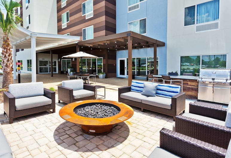 TownePlace Suites by Marriott Montgomery EastChase, Montgomery, Terrasse/Patio