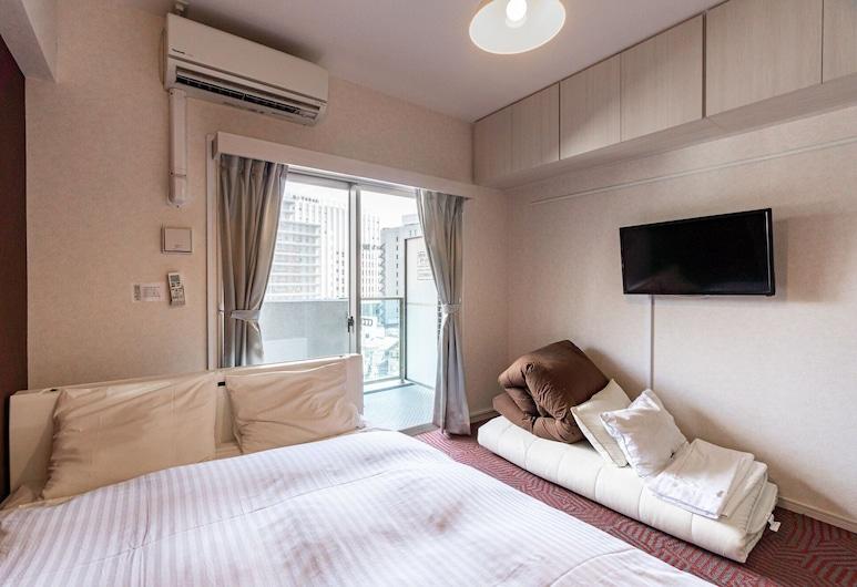 Residence Hotel Hakata 2, Fukuoka, Comfort-Doppelzimmer, Nichtraucher, Stadtblick, Zimmer