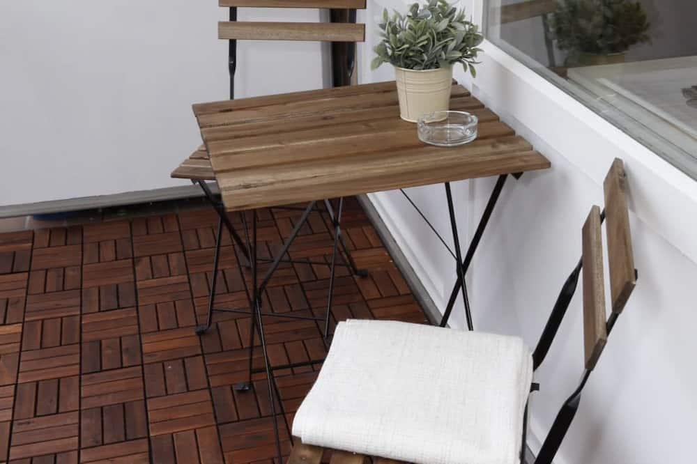 Deluxe Studio Suite, 1 Bedroom, Courtyard View - Balcony