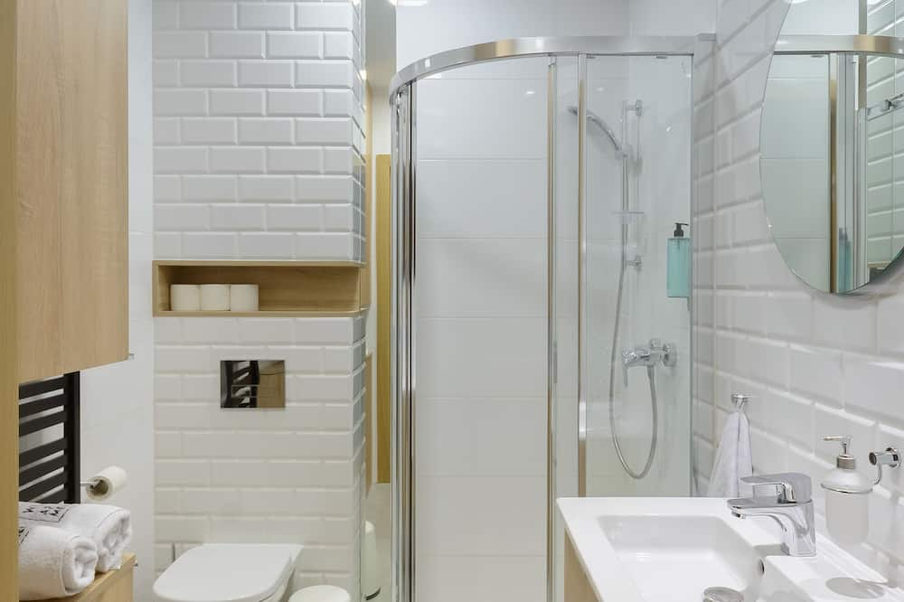 Superior Apartment (Double Merlot) - Bilik mandi