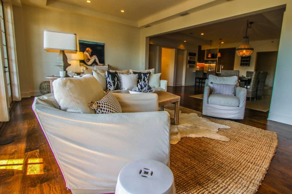 Luxusný byt, 3 spálne, výhľad do dvora, s výhľadom do dvora - Obývacie priestory