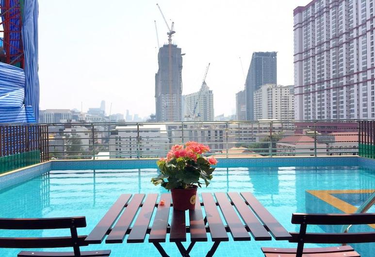 Top High Airport Link Hotel, Bangkok, Açık Yüzme Havuzu