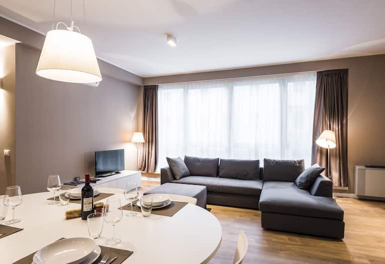 MyPlace Urban Loft, Padova, Apartmán typu Deluxe, Obývacie priestory