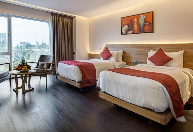 Attide Hotel, Bengaluru, Executive dubbelrum eller tvåbäddsrum - 1 sovrum, Gästrum