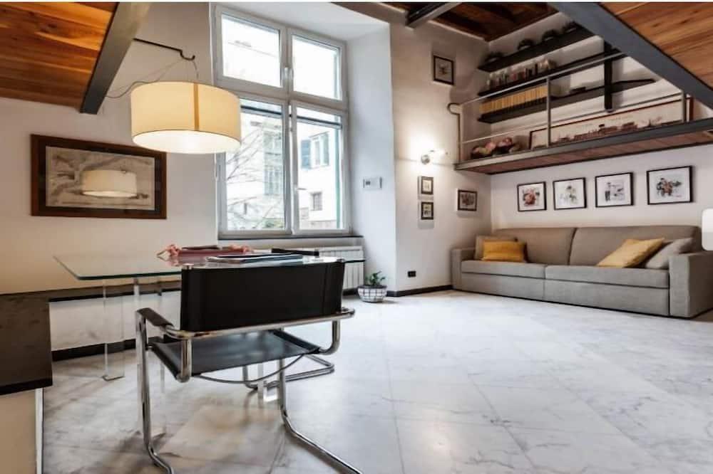 Loft (Vico degli Indoratori 8, int 1+2) - Living Room
