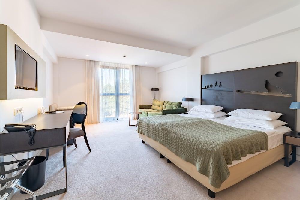 Superior Δίκλινο Δωμάτιο (Double ή Twin) - Περιοχή καθιστικού