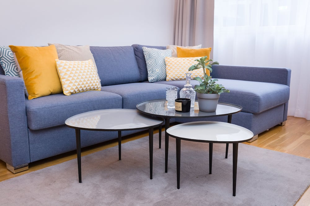 Executive-Apartment, 2Schlafzimmer, Executive-Etage (with Suite, incl. 39€ cleaning fee) - Wohnbereich