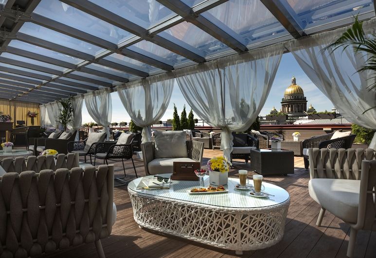 Lotte Hotel St.Petersburg, Petrohrad, Terasa