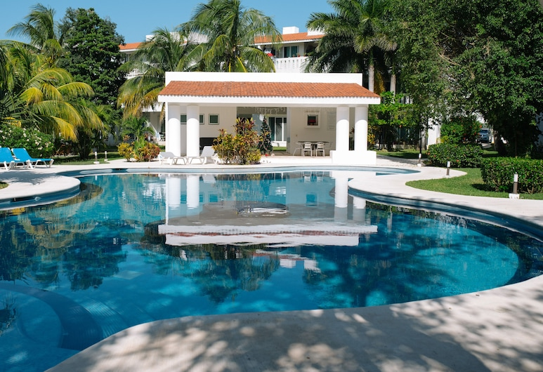 Real del Carmen 202 Playacar by Myrica, Playa del Carmen, Udendørs pool