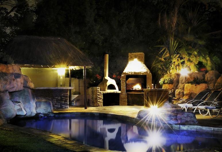 Mandalay Beach Guest House, Fokváros, BBQ/piknik-terület