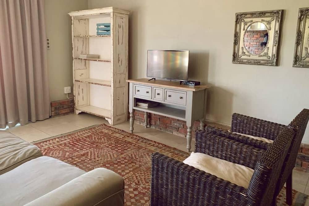 Flat - Зона гостиной