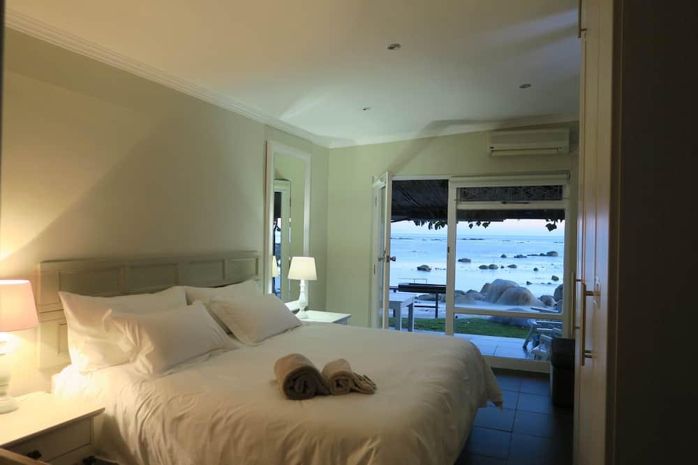 Casa de campo de lujo, 1 habitación, vista al mar, frente al mar - Habitación