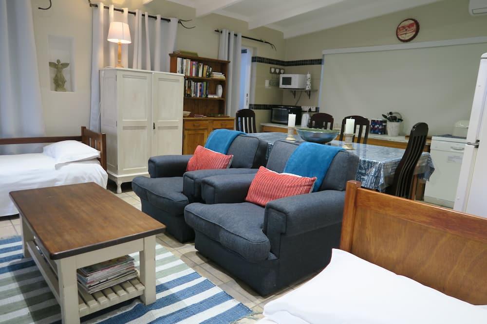 Casa de campo de lujo, 1 habitación, vista al mar, frente al mar - Sala de estar