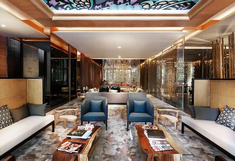 Artyzen Habitat Dongzhimen Beijing, Beijing, Sitteområde i lobbyen