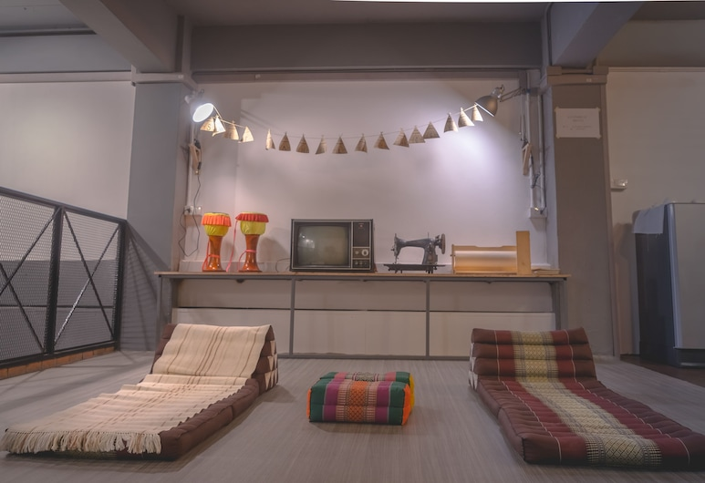 Sleepaholic Hostel, Ayutthaya, Hosťovská izba