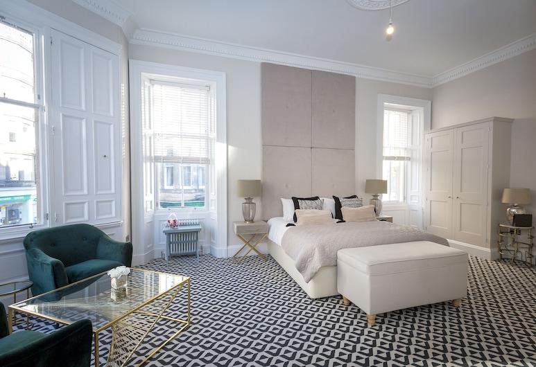 The Lane Hotel, Edinburgh, Premier Double or Twin Room, Ensuite, City View, Guest Room